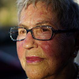 92-åriga Lea Gleitman är en av de få som fortfarande är vid liv och kan berätta om förintelsen.