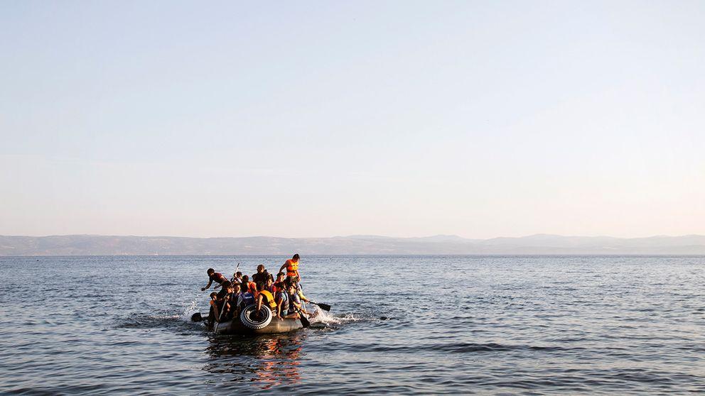 Flyktingbåt.