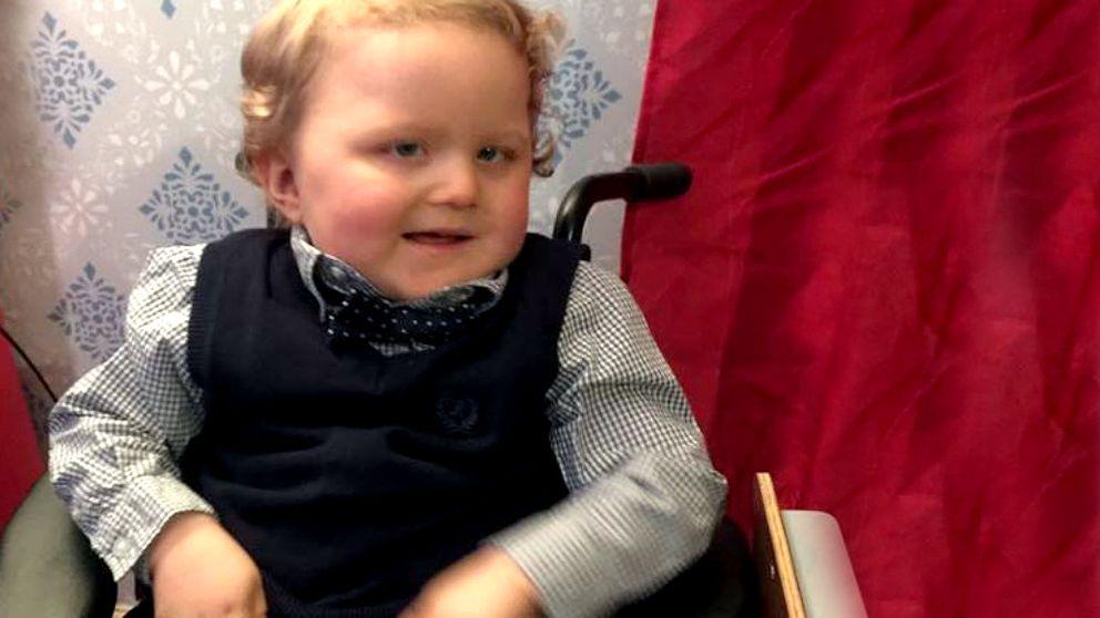 2,5-årige Ludwig Hellström.