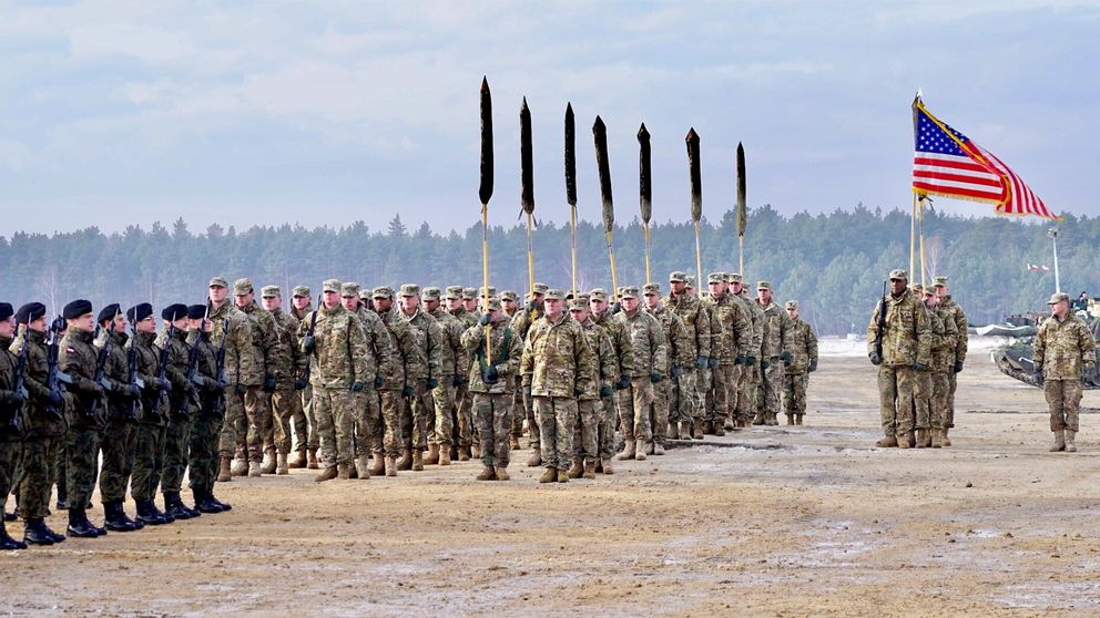 Amerikansk militär i Polen