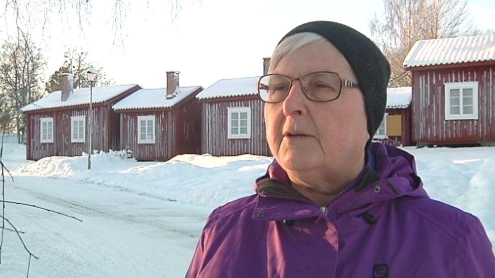 Evy Andersson, ordförande i föreningen Lövångersbygdens Utveckling.