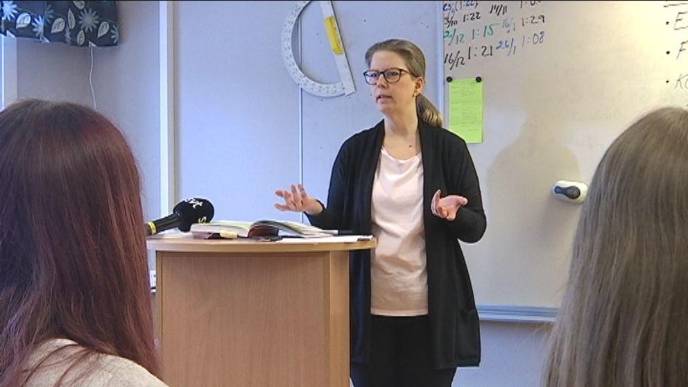 Lärare Ingrid Jemtå