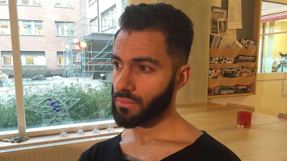 Skådespelaren och teaterpedagogen Mohammad Arvan.