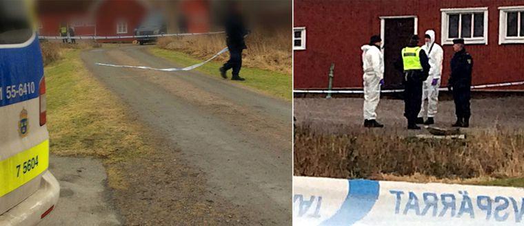Ett misstänkt mord har inträffat i Kungsbacka
