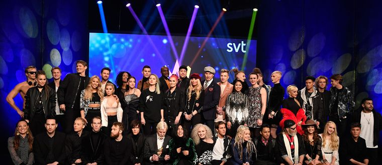Artisterna i Melodifestivalen 2017.