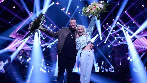 Nano och Ace Wilder är i final i Melodifestivalen 2017.