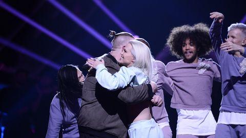 Nano och Ace Wilder till final i Melodifestivalen 2017.