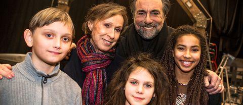 Vincent Wettergren, Eva Rydberg, Rikard Wolff, Monna Orraryd och Naima Palmaer.