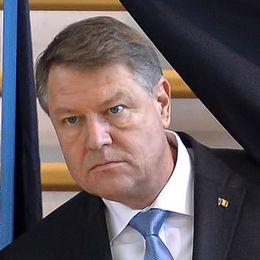 Klaus Iohannis, Rumäniens president.