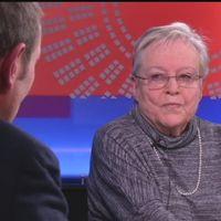 Författaren och journalisten Yrsa Stenius, en av gästerna i programmet Finland 100 år