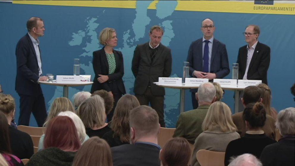 Panelldiskussion i Europahuset om sant och falskt i EU-debatten