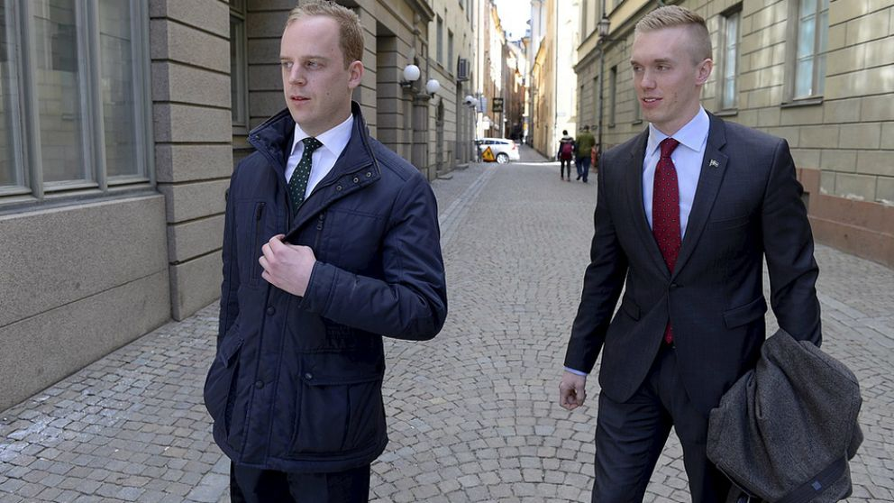 William Hahne och Gustav Kasselstrand, ledarna för Sverigedemokraternas ungdomsförbund SDU som uteslöts ur partiet våren 2015, har bildat ett nytt parti.