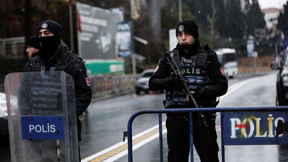 Turkisk polis, arkivbild från 1 januari 2017.