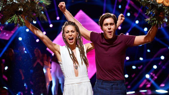 Mariette och Benjamin Ingrosso är i final.