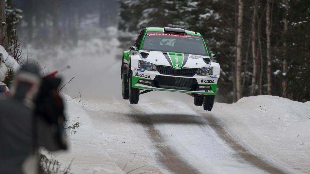 Pontus Tidemand vann WRC 2-klassen i Svenska Rallyt.