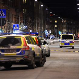 Stort polispådrag vid Möllevångstorget i Malmö efter skjutningen