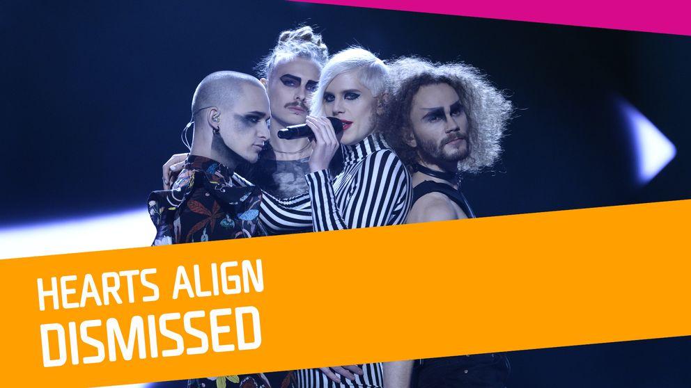 Dismissed, Startbild, Melodifestivalen 2017