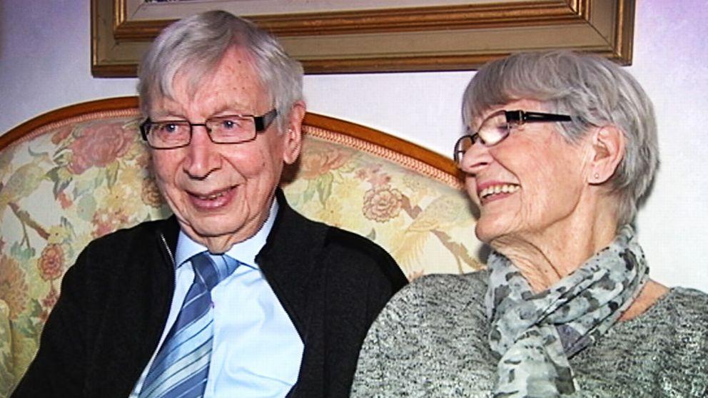 Bert och Margareta Mohlén