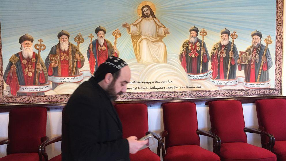 Syrisk-ortodoxa St Jacobkyrkan i Hovjsö.