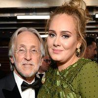 Neil Portnow tillsammans med Adele.