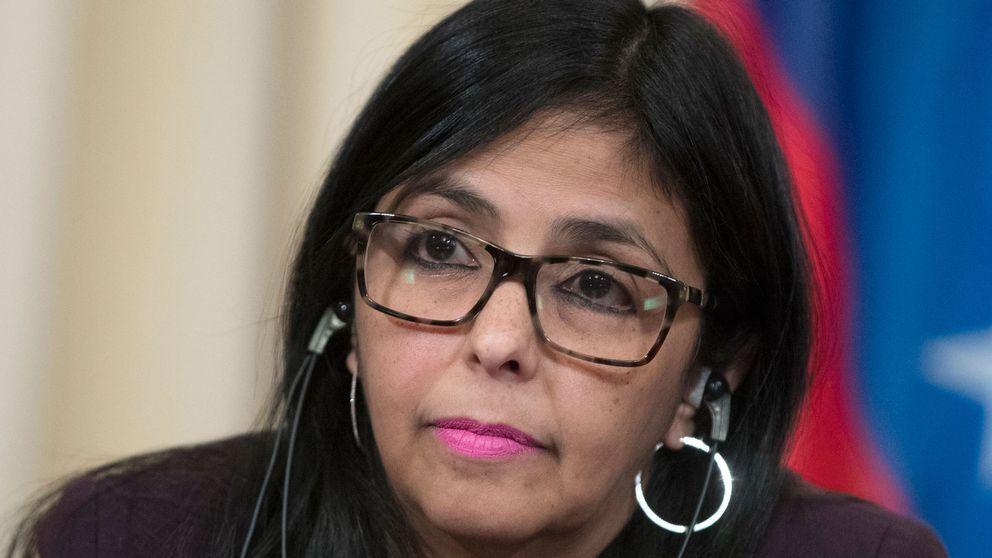 Venezuelas utrikesminister Delcy Rodriguez