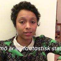 Denise Henningsson älskar Malmö.