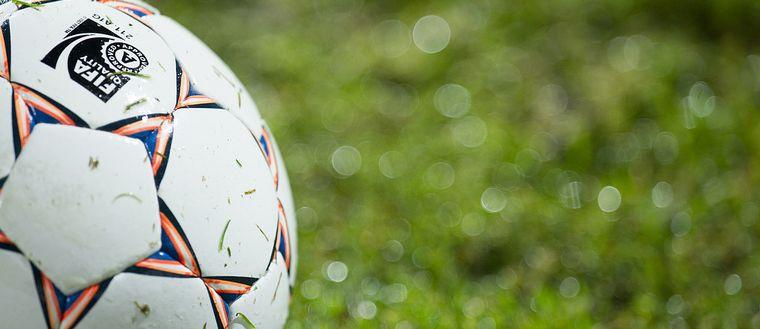 Bild på fotboll.