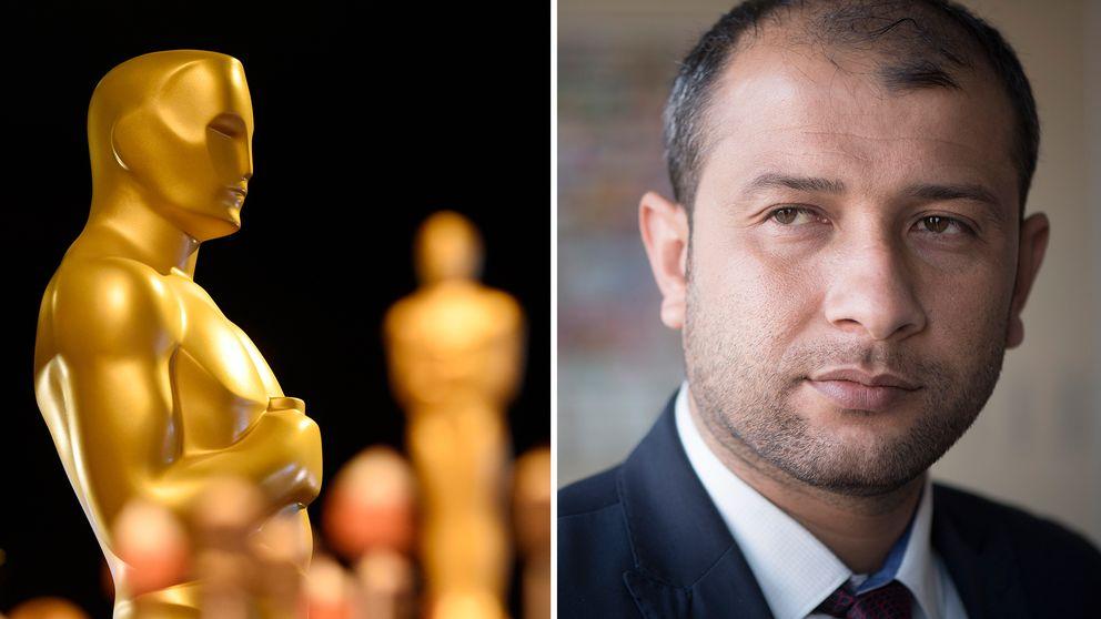 Två syriska medlemmar i organisationen Vita hjälmarna har meddelat att de kommer till Oscarsgalan.