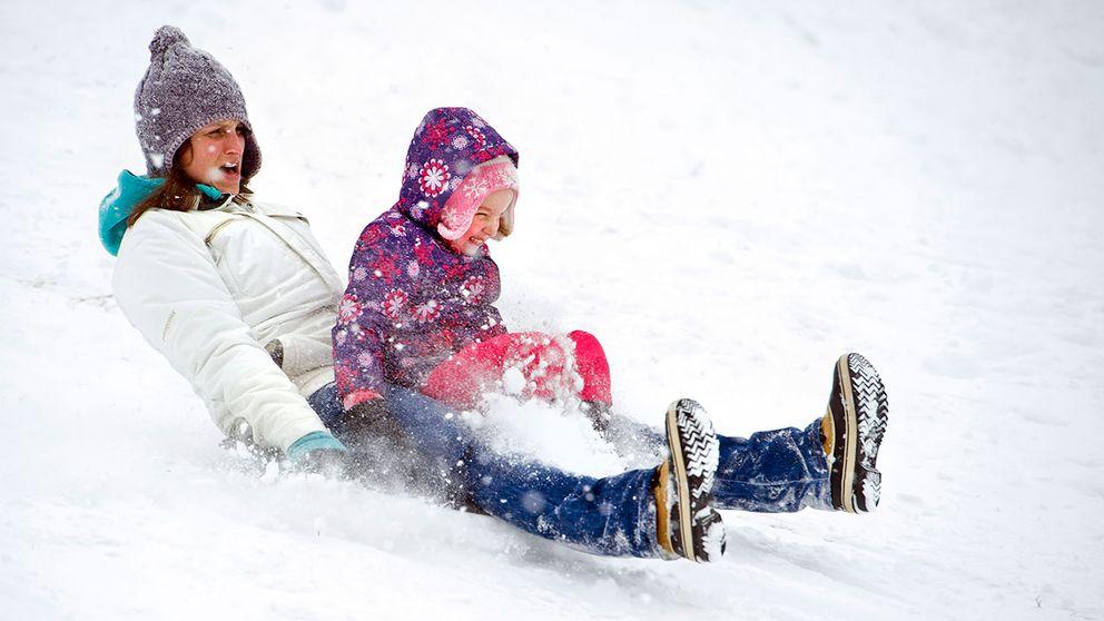Dags för sportlov och då kommer vintern tillbaka.