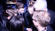 Clara henry, David Lindgren och Hasse Andersson.