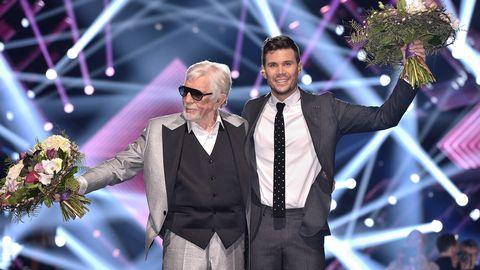 Owe Thörnqvist och Robin Bengtsson är i final i Melodifestivalen 2017.