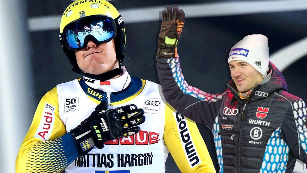 Rivalens fina gest – hoppas på medalj för Hargin - Sport | SVT.se
