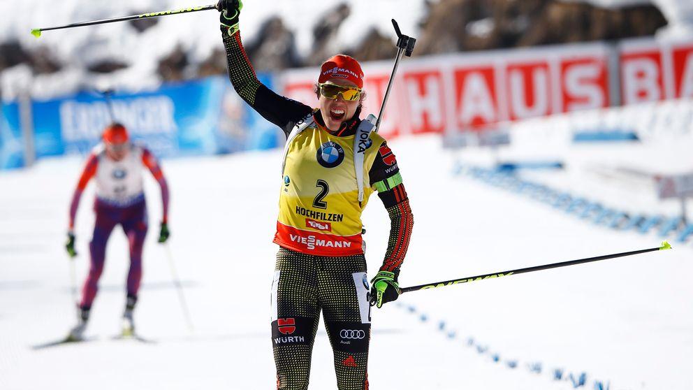 Dahlmeier historisk med fem guld - Sport | SVT.se