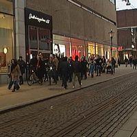 Demonstration i Norrköping