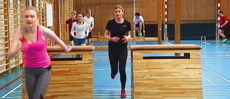 Eleverna på Norrstrandsskolan i Karlstad ska gympa varje dag.