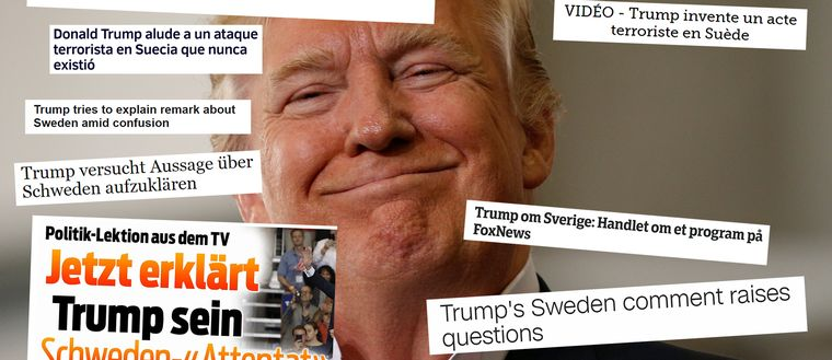 Trump, rubriker