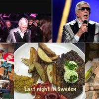 Last night in sweden