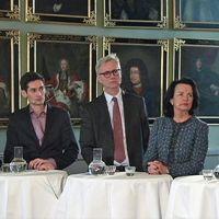 Panel i seminarium om gränsen för domstolars maktutövning.