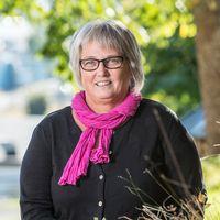 Anne-Cathrine Ingström som är verkshetschef för barn och utbildningsenheten och stadshuset i Vimmerb.