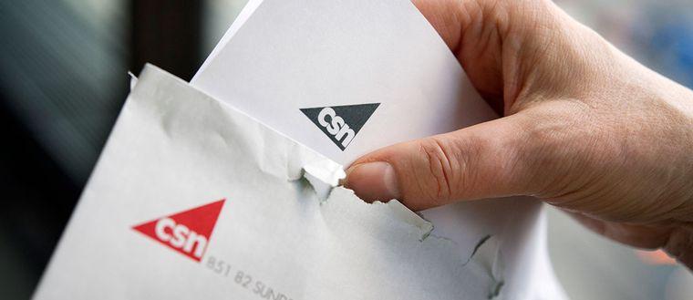CSN-kuvert