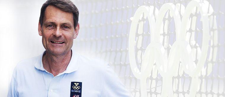 Peter Reinebo, Sveriges Olympiska Kommitté. Bilden är ett montage.