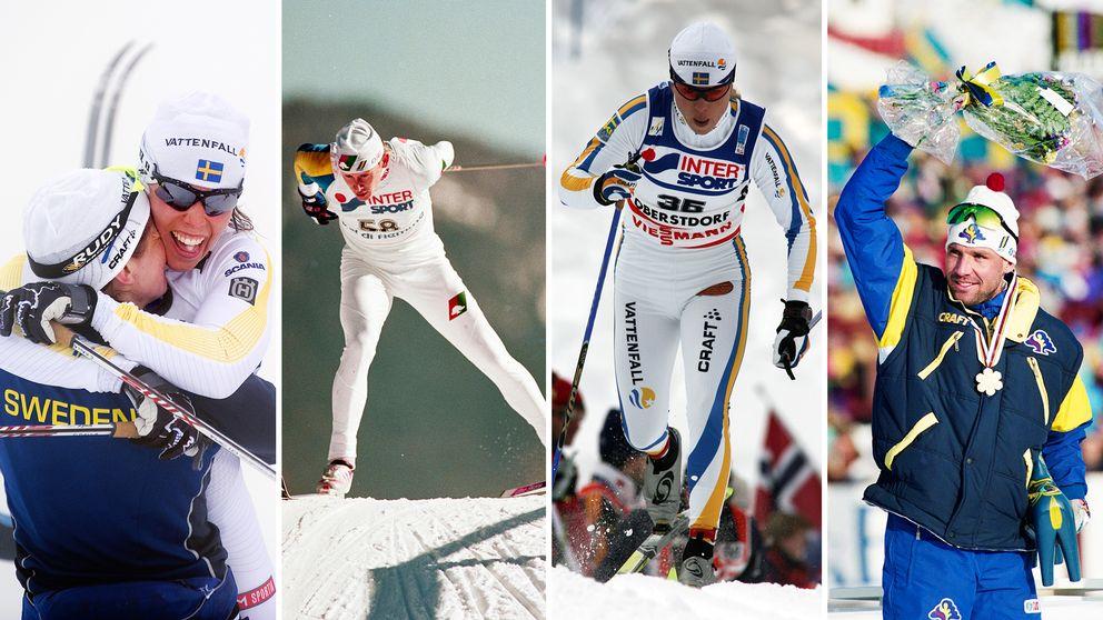 Från Wassberg 1982 till Kalla 2015. Här är några av de VM-guld vi minns.