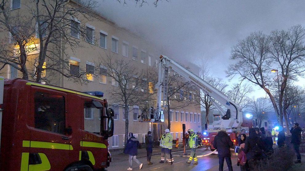 brand i Tranås