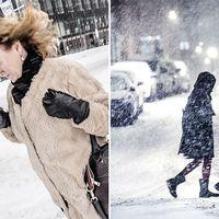 Nu drar snön in över landet  SMHI varnar