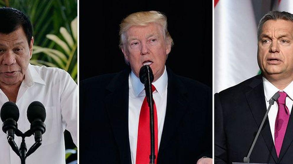 Filippinernas Duterte, USA:s Trump och Ungerns Orban pekas alla ut i Amnestys årsrapport för farlig retorik.