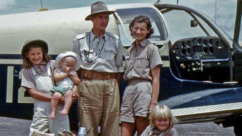 Familjen von Rosen i Etiopien 1949.
