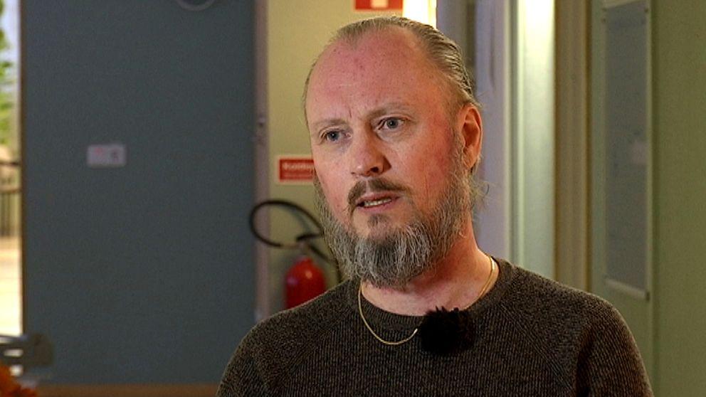 Niclas Bornegrim, M, ordförande i räddningsdirektionen för Gästrike Räddningstjänst