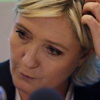 Nationella Frontens partiledare Marine Le Pen.