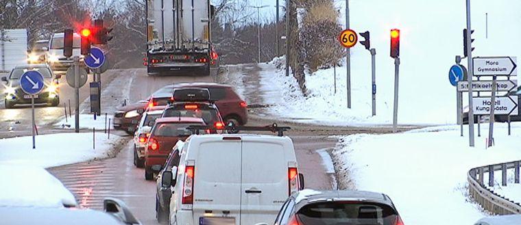 Trafiken i Mora är ett problem som gäckat Trafikverket och som nu ska lösas.