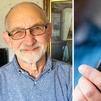 En bedragare som låtsades vara läkare försökte lura Ulf Bernström på 15.000 kronor